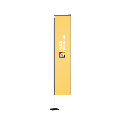Beachflag Rechteck